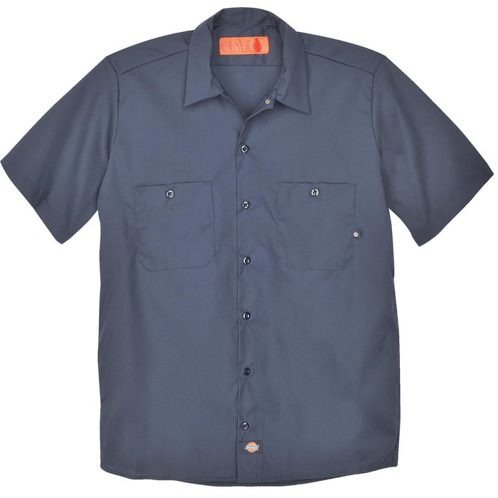 Dickies LS535 Basic Industrial Short-Sleeve Work Shirts
