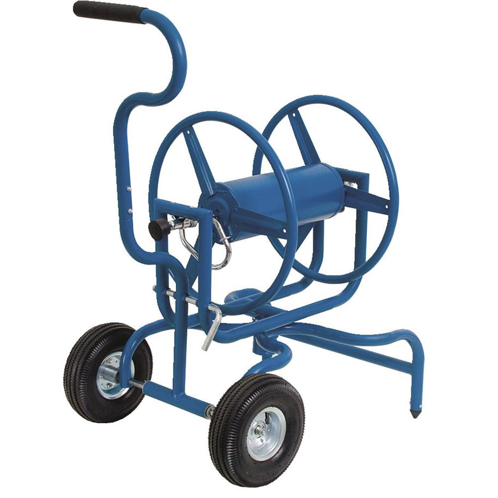 Heavy-Duty Swiveling Hose Reel Cart