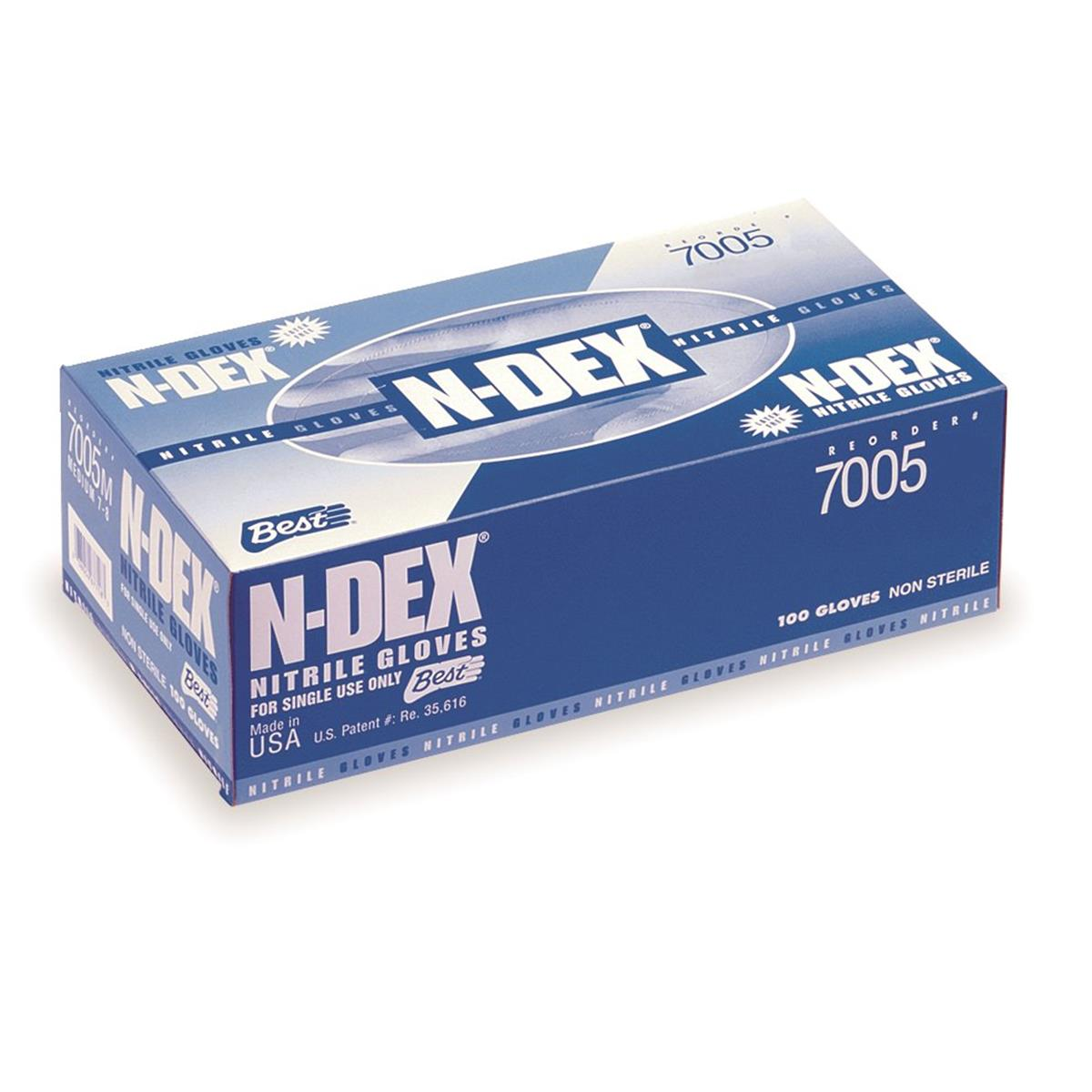 SHOWA BEST N-DEX® 4-mil Nitrile Gloves