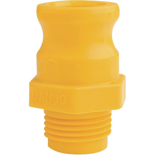 "Banjo® Cam Lever Garden Hose Fitting 3/4"" Adapter x 3/4"" GHT Male"