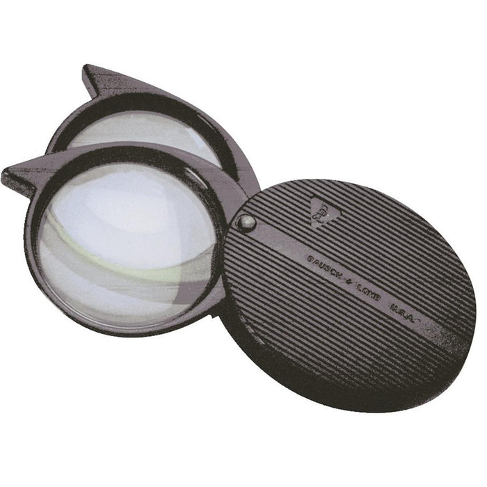 Folding Pocket Magnifier with 4x, 5x and 9x Lens