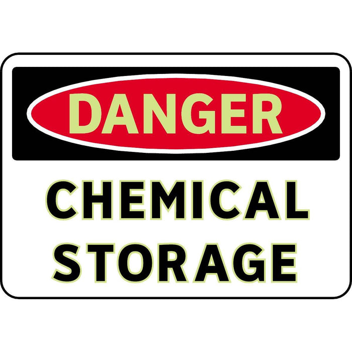 FireFly® Signs - Danger Chemical Storage