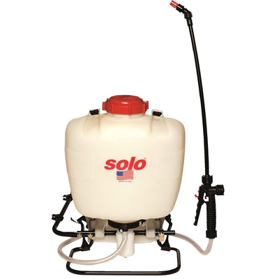 Solo 4-gal. Standard Backpack Sprayer with Piston Pump