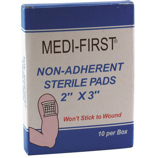 MEDI-FIRST Nonadhesive Gauze Pads