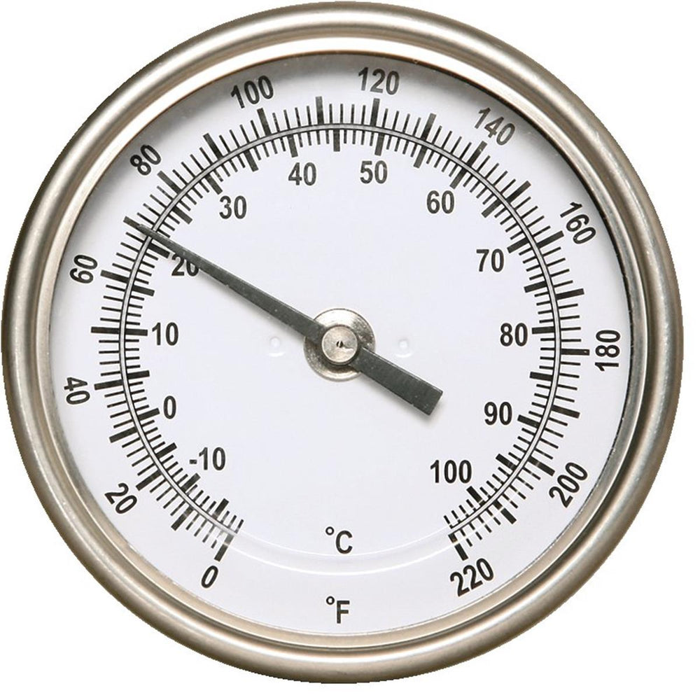"36""L Dial Probe Soil and Compost Thermometer"
