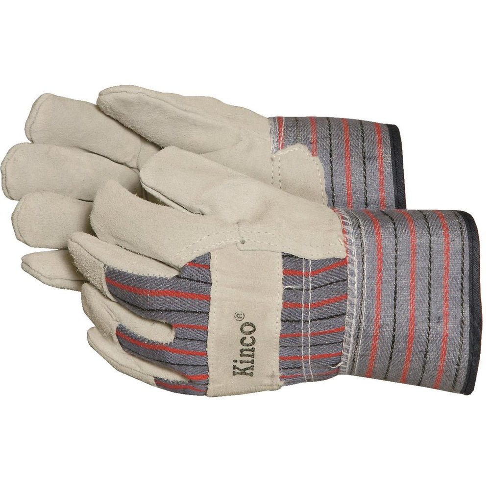 Kinco Youth Cowhide Leather Palm Gloves