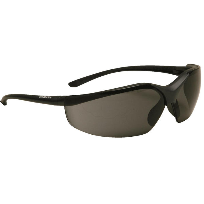 ELVEX SG-24PL Xts™ Safety Glasses Navy Blue Frame And Gray Scratch-Resistant