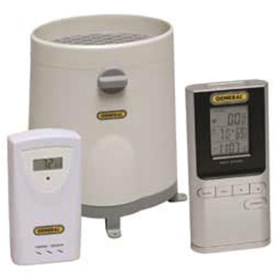 General Wireless Rain Gauge Thermometer