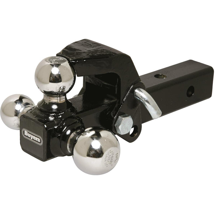 Tri-Ball Hitch with Pintle Hook