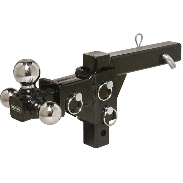 Adjustable Tri-Ball Hitch