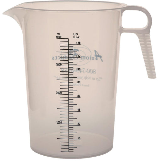 128-oz. Food-Grade Polypropylene Measuring Pitcher