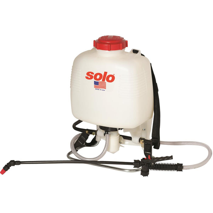 Backpack Sprayer with Standard Piston Pump, 3 gal