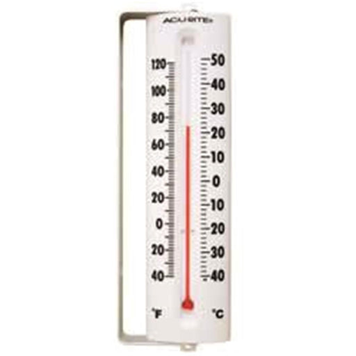 "8-1/2""H Mercury-Free Plastic Case Traditional Thermometer"