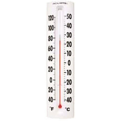 "14""H Mercury-Free Plastic Case Traditional Thermometer"