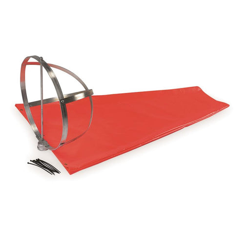 "Heavy-Duty Wind Sock Kit, 3'L x 10""-dia."