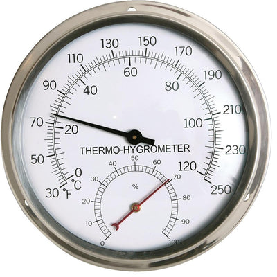 Aluminum Analog Temperature and Humidity Dial