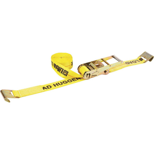 "Lift-All 3""W Cargo Ratchet Tie Downs With Flat Hook"