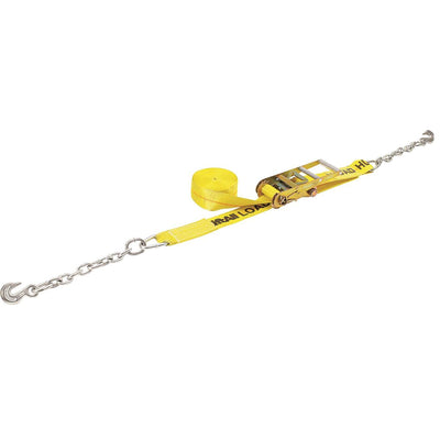 "Lift-All 3""W Cargo Ratchet Tie Down With Chain"