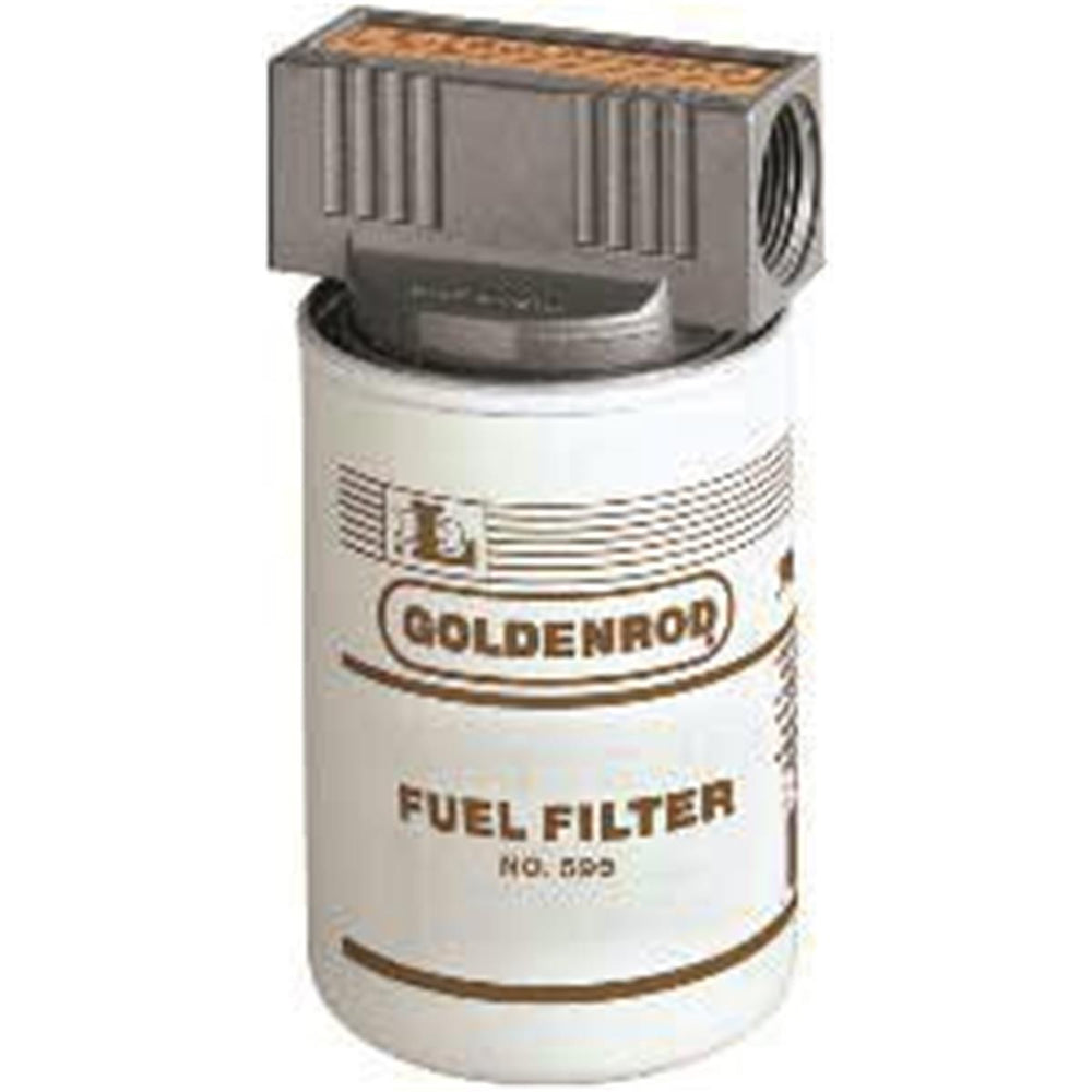 Complete, Standard, Spin-on Fuel Tank Filter
