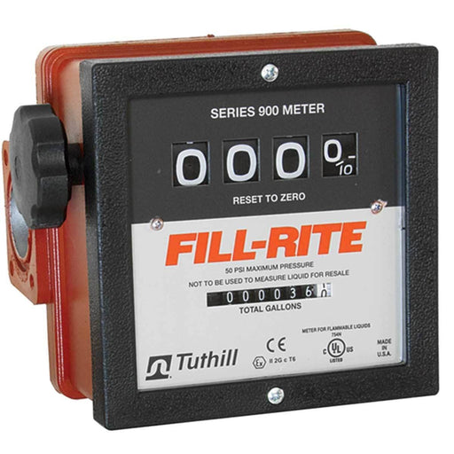FILL-RITE High-Capacity Flow Meter