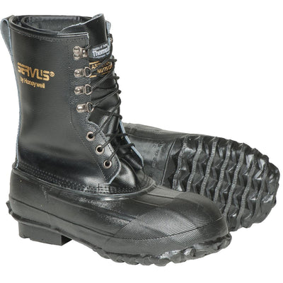 "SERVUS BY HONEYWELL 10""H Insulated Steel Toe Pac Boots"