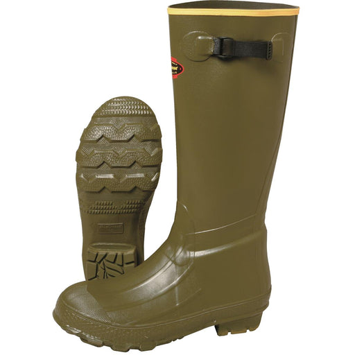 "LACROSSE 18""H Insulated Burly Boots with Chevron Cleated Sole"