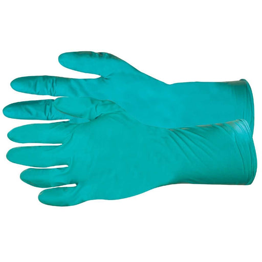 "12""L Extended Cuff, 6-mil Nitrile Gloves"