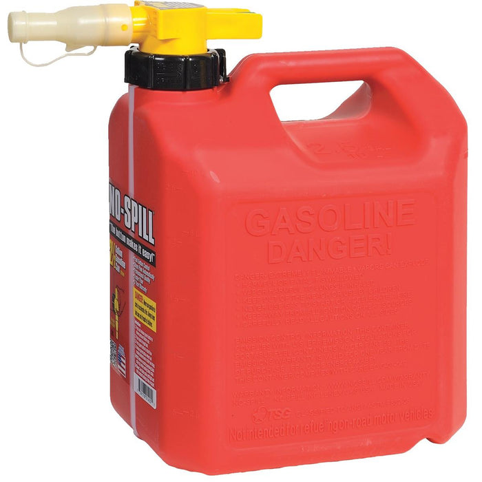 No-Spill® CARB-Compliant Gas Can, 2-1/2 gal.