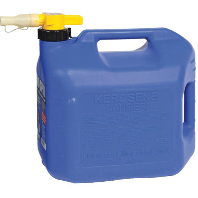 No-Spill® 5-gal. CARB-Compliant Blue Kerosene Can