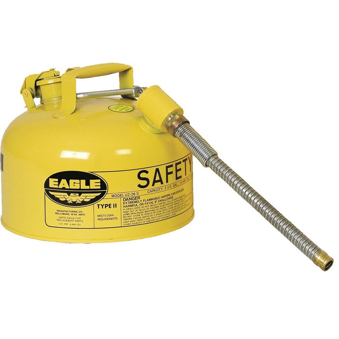 2-gal. Type II Safety Fuel Can