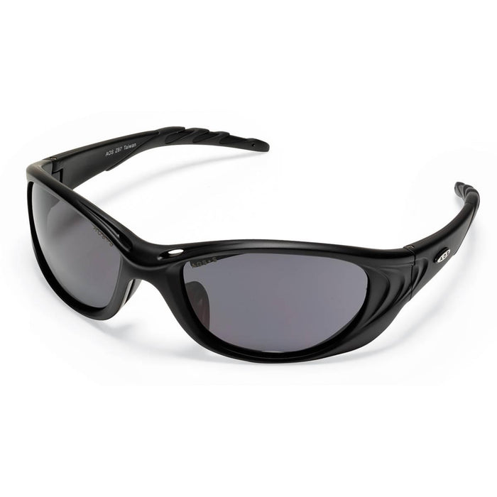 Fuel 2™ Safety Glasses With Black Frame, Gray Lens