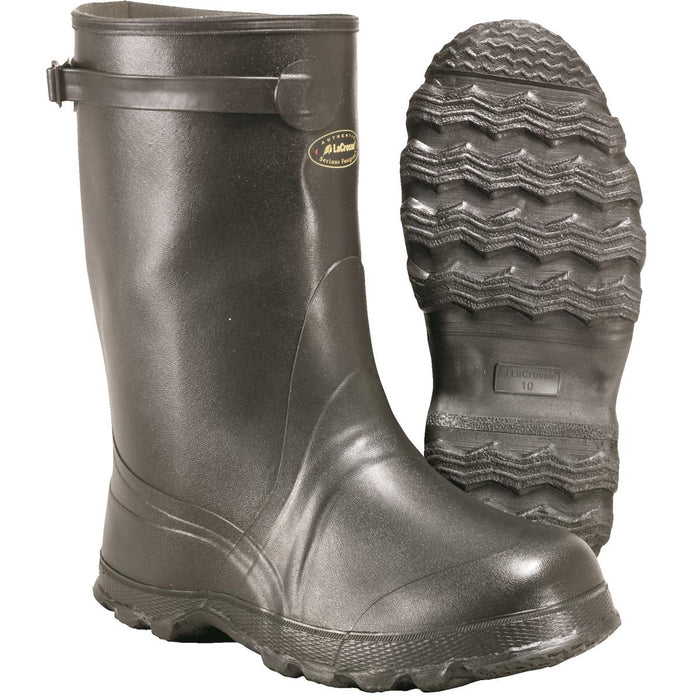 "LACROSSE 14""H, Premium-Grade Rubber Overboots"