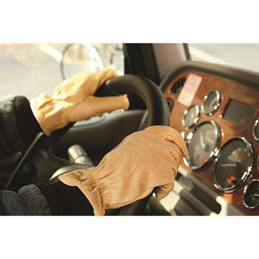 KINCO Pigskin Driver's Gloves