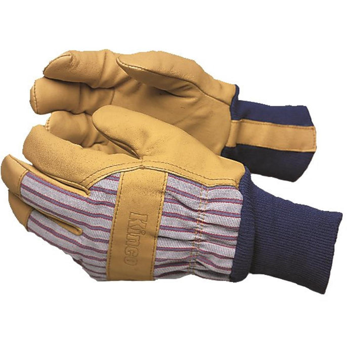 KINCO INTERNATIONAL Insulated Pigskin Gloves with Knit Wrist