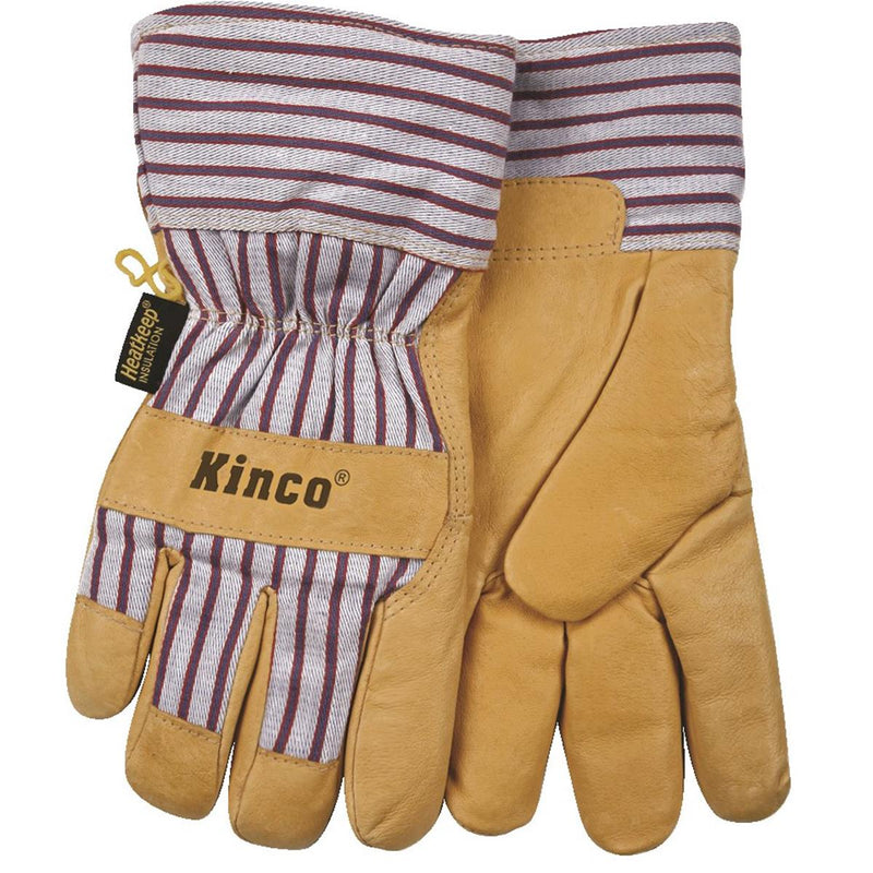 KINCO INTERNATIONAL Insulated Pigskin Gloves with Safety Cuff