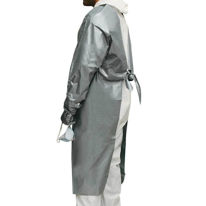 NORTH BY HONEYWELL SilverShield® Chemical-Resistant Coat-Style Apron