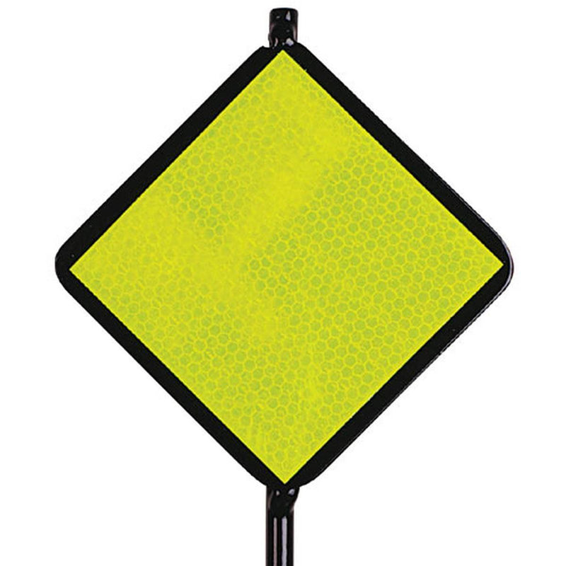 Lime Reflective Driveway Marker