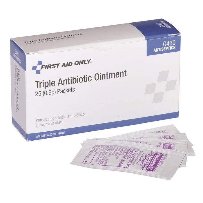 1/32-oz. Packs of Triple Antibiotic Ointment (25/box)