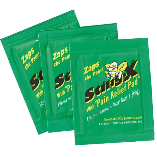 Sting-X™ Pain Relief Pads