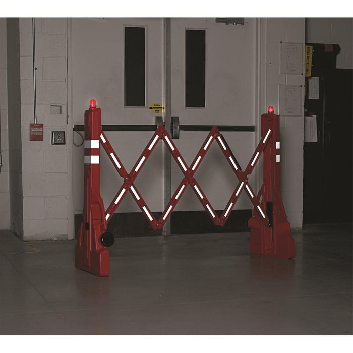 Adjust-A-Barricade with Flashing LED Lights