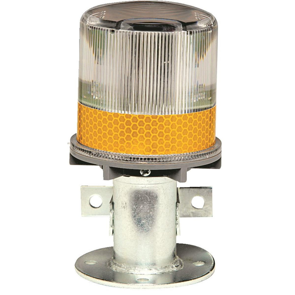 TAPCO Solar LED Amber Strobe Light