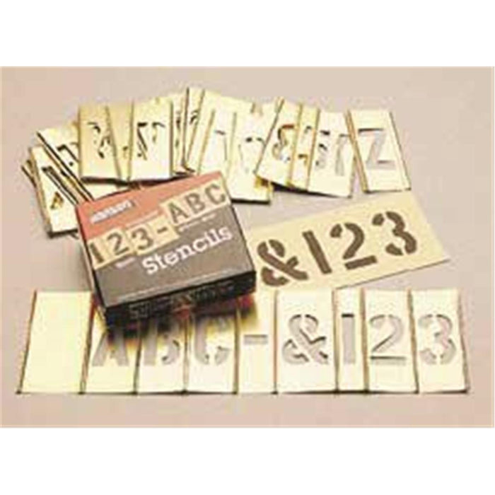 "Brass Stencil Kit With 6""H Letters"