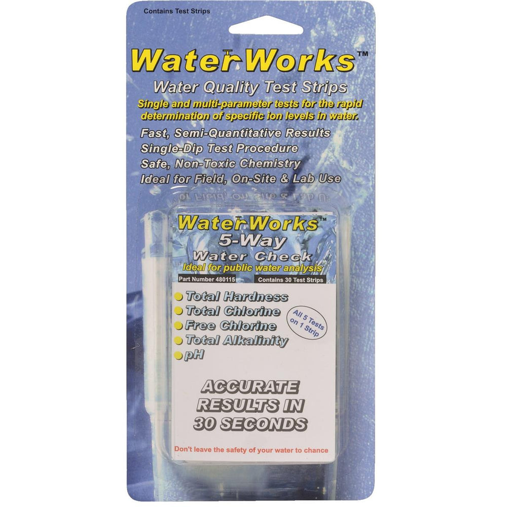 WaterWorks™ Water Quality Test Strips