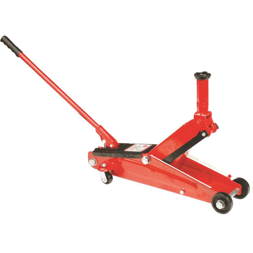 Red Floor Jack, 3-Ton Capacity