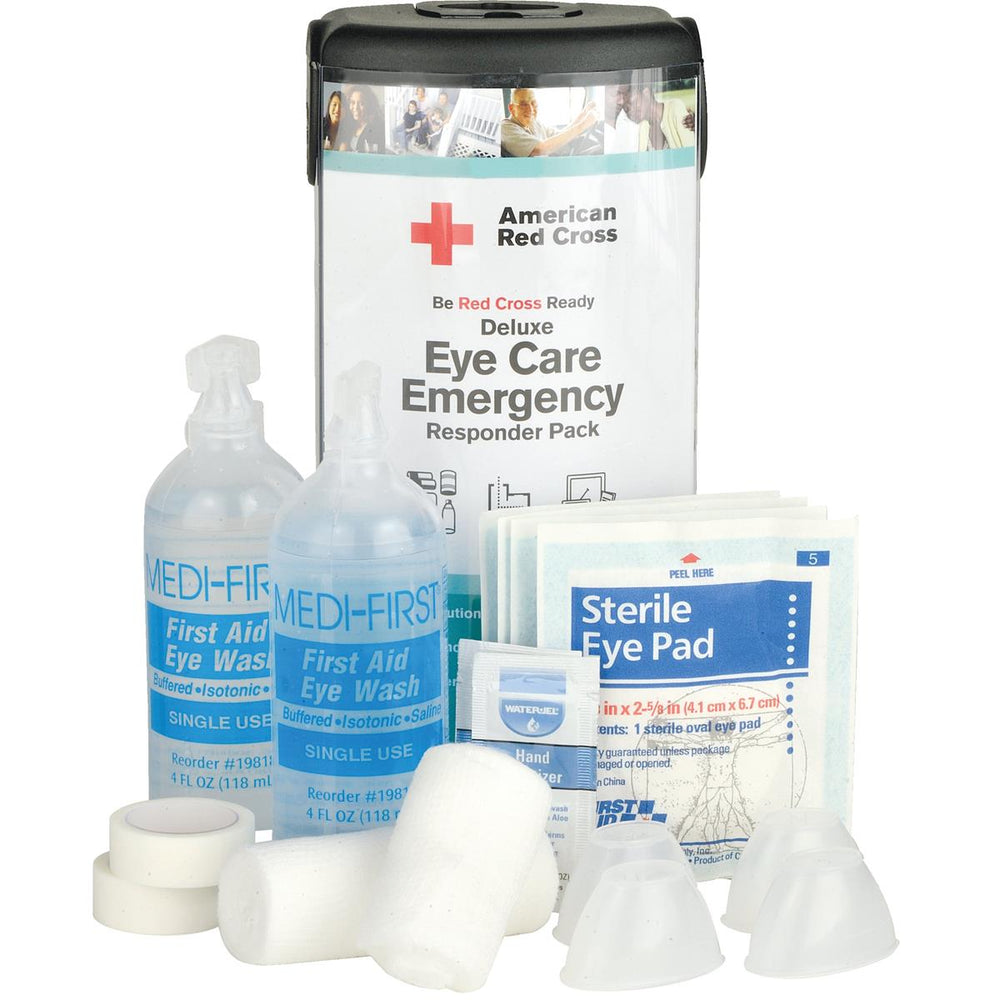 American Red Cross Deluxe Eye Care Emergency Responder Pack