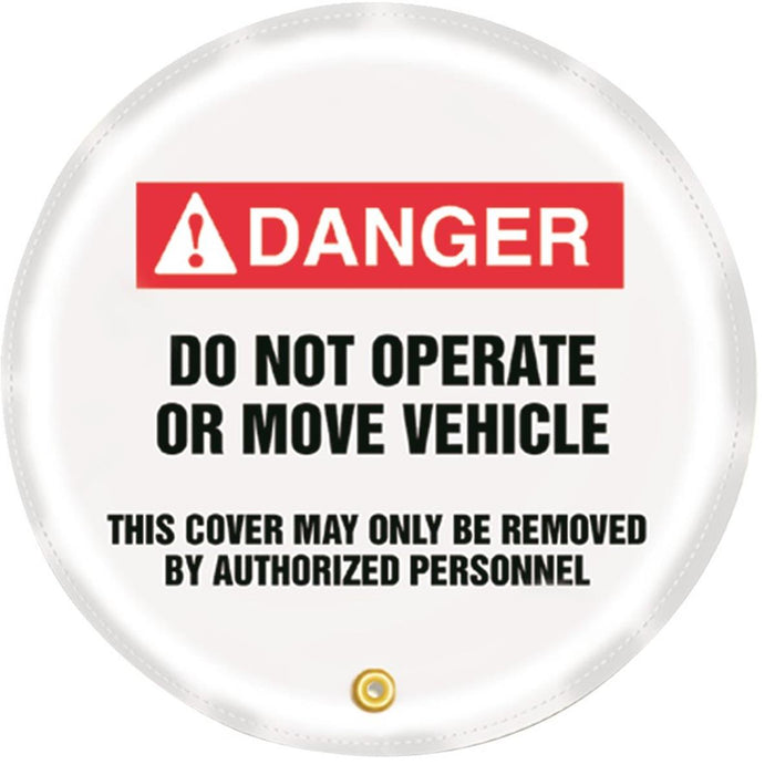 """Do Not Operate"" Steering Wheel Message Cover"