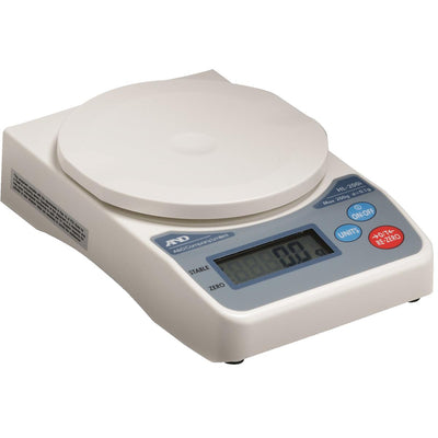 A/&D WEIGHING SJ-2000HS Digital Compact Bench Scale 2000g//4.4 lb Capacity