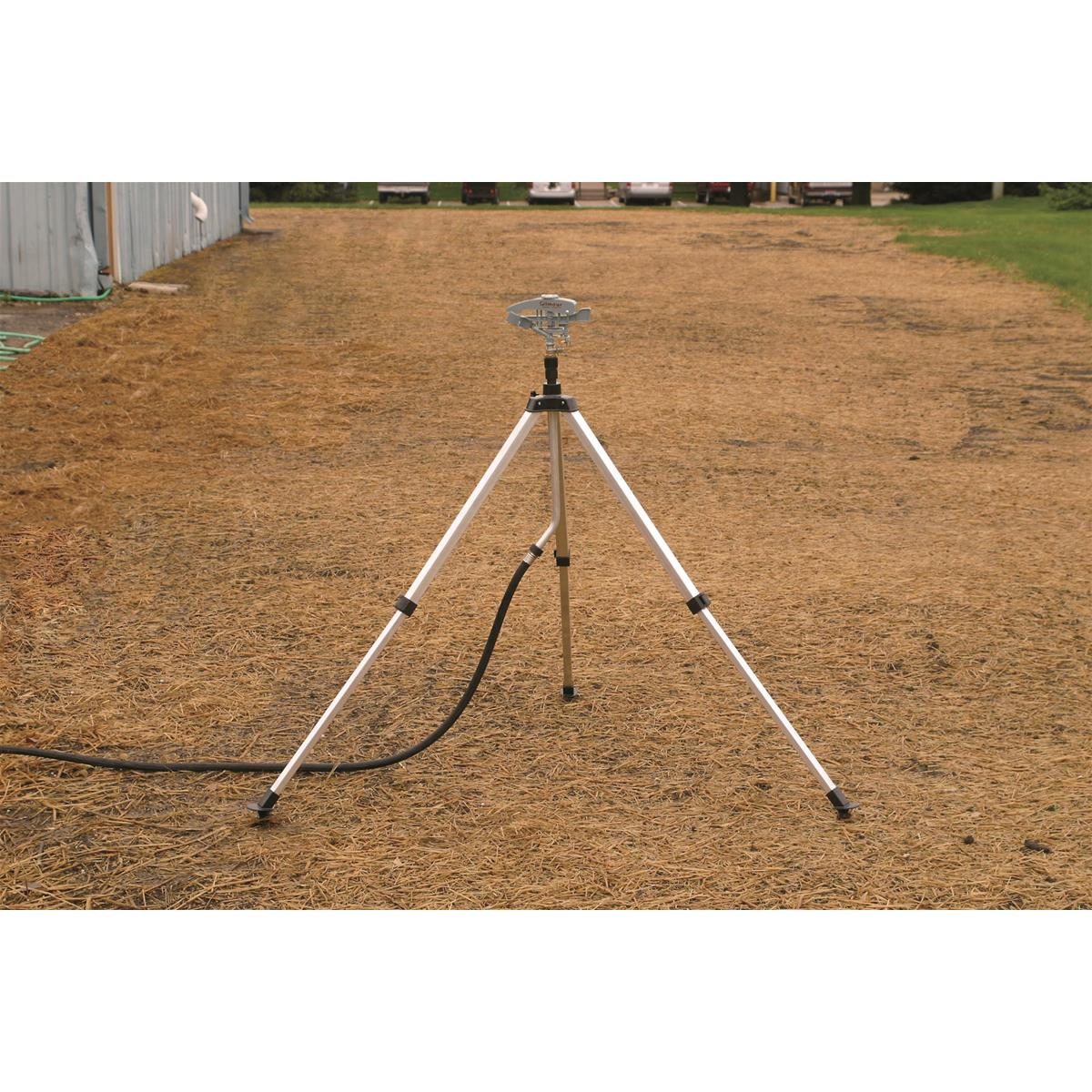 Telescoping High-Rise Tripod Sprinkler