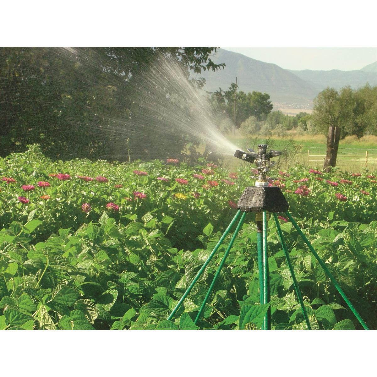 "Five-legged 20""H SuperStand with Impact Sprinkler"