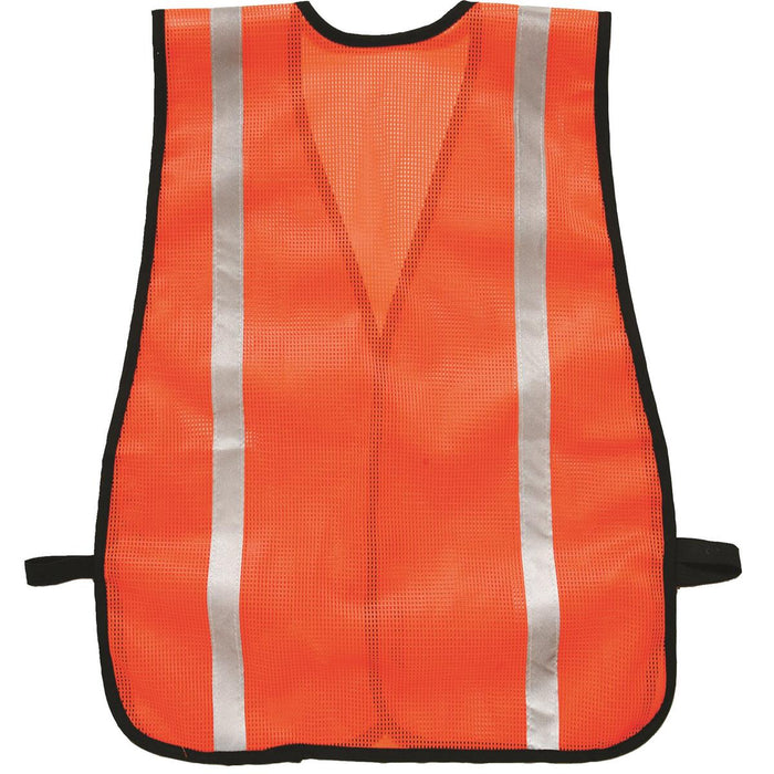ML KISHIGO Mesh Safety Vest with Reflective Striping